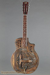 Royall Resonator Guitar Trifecta Cutaway/12 Distressed Brass Rust NEW