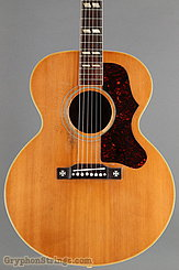 1956 Gibson Guitar J-185 Natural Image 10