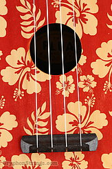 Fluke Ukulele Flea M30, Aloha Red, Soprano NEW Image 11