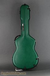 Calton Case Medium Jumbo (OM,000) Green/Silver NEW Image 1