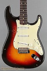 1962 Fender Guitar Stratocaster Sunburst Image 10