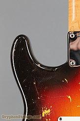 1962 Fender Guitar Stratocaster Sunburst Image 17