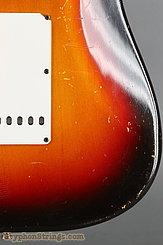 1962 Fender Guitar Stratocaster Sunburst Image 20