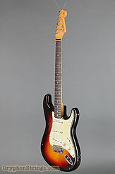 1962 Fender Guitar Stratocaster Sunburst Image 8