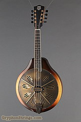 National Reso-Phonic Resophonic RM1 Walnut, Antique Brass Resonator Mandolin NEW