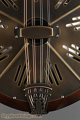 National Reso-Phonic Resophonic RM1 Walnut, Antique Brass Resonator Mandolin NEW Image 11