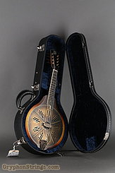 National Reso-Phonic Resophonic RM1 Walnut, Antique Brass Resonator Mandolin NEW Image 17