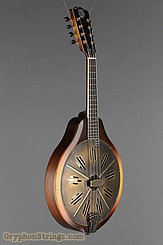 National Reso-Phonic Resophonic RM1 Walnut, Antique Brass Resonator Mandolin NEW Image 2