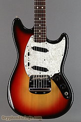 1973 Fender Guitar Mustang Sunburst Image 10