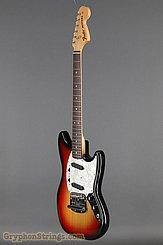 1973 Fender Guitar Mustang Sunburst Image 8