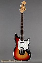 1973 Fender Guitar Mustang Sunburst Image 9