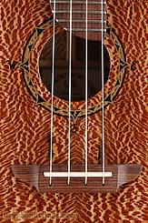 Rick Turner Ukulele Compass Rose Concert Big Flake Sycamore NEW Image 11