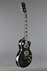 2008 Gibson Guitar '59 Les Paul Historic Reissue-Transparent Black Image 2