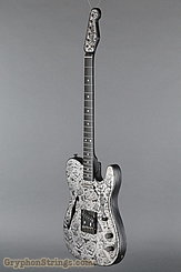 2005 James Trussart Guitar Deluxe Steelcaster Roses Image 8