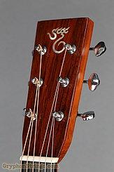 2002 Santa Cruz Guitar OM/PW Sitka/Rosewood Image 14