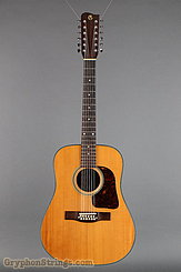 1971 Gallagher Guitar G45-12 Sitka/mahogany D Image 9