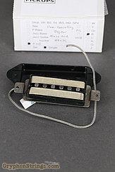 Lindy Fralin Misc. P90 (Neck), Hum-Canceling, Dog-ear, Alnico Rods, Black Image 2