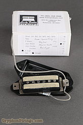 Lindy Fralin Misc. P90 (Bridge), Hum-canceling, Dog-ear, black, alnico rods Image 2