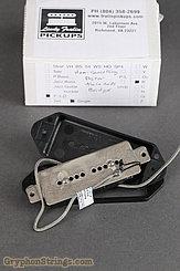 Lindy Fralin Misc. P90 (Bridge), Hum-canceling, Dog-ear, black, alnico rods Image 3