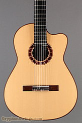 2015 Cervantes Guitar Crossover II Signature, Spruce/Cocobolo, Millenia Fingerboard Image 10