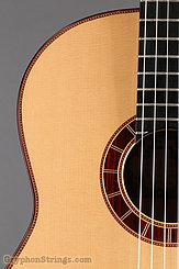 2015 Cervantes Guitar Crossover II Signature, Spruce/Cocobolo, Millenia Fingerboard Image 12