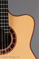 2015 Cervantes Guitar Crossover II Signature, Spruce/Cocobolo, Millenia Fingerboard Image 13