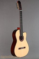 2015 Cervantes Guitar Crossover II Signature, Spruce/Cocobolo, Millenia Fingerboard Image 2