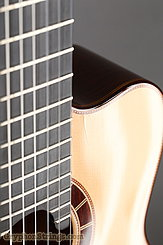 2015 Cervantes Guitar Crossover II Signature, Spruce/Cocobolo, Millenia Fingerboard Image 29