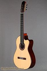 2015 Cervantes Guitar Crossover II Signature, Spruce/Cocobolo, Millenia Fingerboard Image 8
