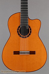 2014 Cervantes Guitar Crossover II Signature, Red Cedar/Cocobolo Image 10