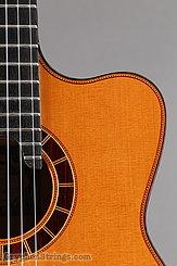 2014 Cervantes Guitar Crossover II Signature, Red Cedar/Cocobolo Image 13