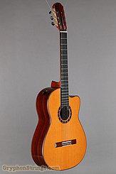 2014 Cervantes Guitar Crossover II Signature, Red Cedar/Cocobolo Image 2