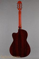 2014 Cervantes Guitar Crossover II Signature, Red Cedar/Cocobolo Image 5