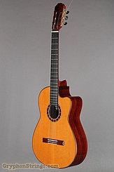 2014 Cervantes Guitar Crossover II Signature, Red Cedar/Cocobolo Image 8