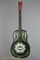 National Reso-Phonic Guitar NRP, 12 fret, Green edgeburst NEW
