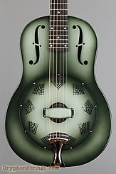 National Reso-Phonic Guitar NRP, 12 fret, Green edgeburst NEW Image 10