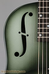 National Reso-Phonic Guitar NRP, 12 fret, Green edgeburst NEW Image 11
