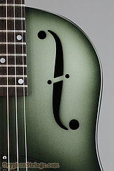 National Reso-Phonic Guitar NRP, 12 fret, Green edgeburst NEW Image 12