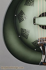 National Reso-Phonic Guitar NRP, 12 fret, Green edgeburst NEW Image 13