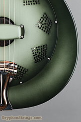 National Reso-Phonic Guitar NRP, 12 fret, Green edgeburst NEW Image 14