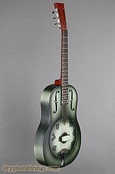 National Reso-Phonic Guitar NRP, 12 fret, Green edgeburst NEW Image 2