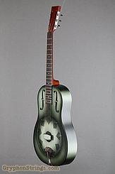 National Reso-Phonic Guitar NRP, 12 fret, Green edgeburst NEW Image 8