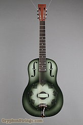National Reso-Phonic Guitar NRP, 12 fret, Green edgeburst NEW Image 9