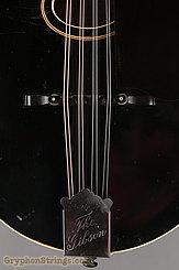 1924 Gibson Mandolin A-1 Snakehead Black Top Image 11