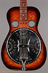 1976 Dobro Guitar Model 66 (carved pattern top & back) Image 10