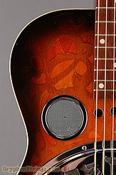 1976 Dobro Guitar Model 66 (carved pattern top & back) Image 12