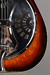 1976 Dobro Guitar Model 66 (carved pattern top & back) Image 15
