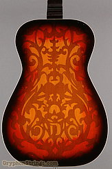 1976 Dobro Guitar Model 66 (carved pattern top & back) Image 17