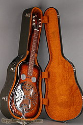 1976 Dobro Guitar Model 66 (carved pattern top & back) Image 33