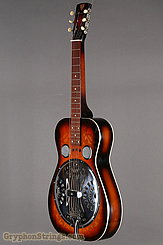 1976 Dobro Guitar Model 66 (carved pattern top & back) Image 8